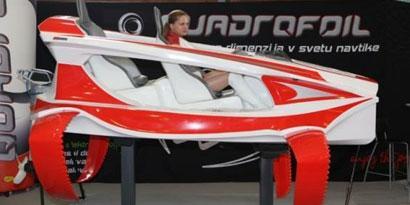 Imagem de Quadrofoil: um aerobarco silencioso, ecológico e muito bonito no site TecMundo