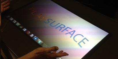 Imagem de Companhia apresenta projeto acessível de mesa digital no site TecMundo