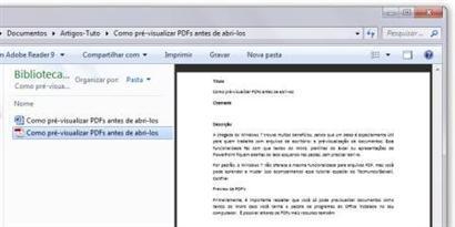 Imagem de Como pré-visualizar PDFs antes de abri-los no site TecMundo