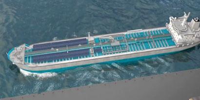 Imagem de Japão constrói o primeiro navio híbrido do mundo [vídeo] no site TecMundo
