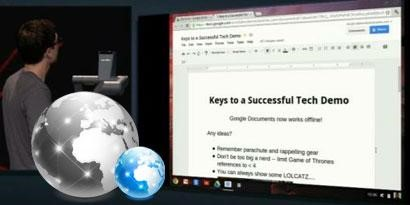 Imagem de Google Docs agora também funciona em modo offline no site TecMundo