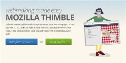 Imagem de Mozilla Thimble ajuda você a criar um site em questão de instantes no site TecMundo