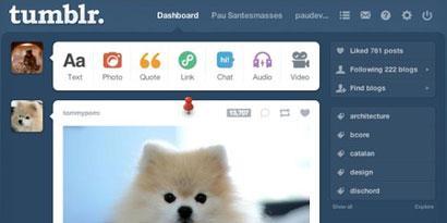 Imagem de Tumblr cria nova ferramenta para destacar postagens no site TecMundo