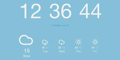 Imagem de Google Chrome: como adicionar informações de horário e de clima em uma nova aba no site TecMundo
