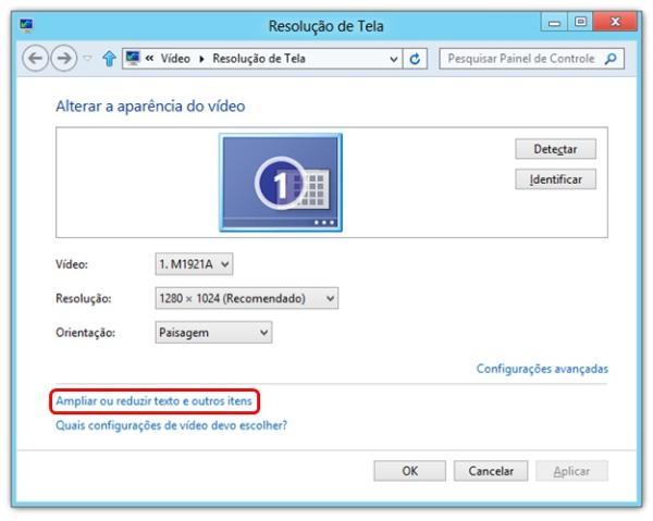 6483552b1 Windows 8  como personalizar o tamanho do texto das janelas - TecMundo