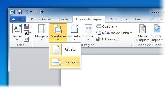 989c8c829242a Crie o documento e arrume a orientação para poder editar o seu wallpaper.  (Fonte da imagem  Reprodução Tecmundo)