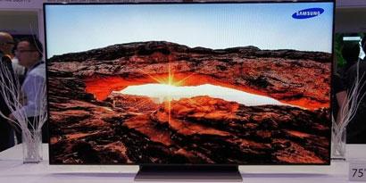 Imagem de Samsung apresenta TV LED de 75 polegadas com design Rose Gold no site TecMundo