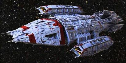 Imagem de 11 incríveis naves espaciais feitas com LEGO [galeria] no site TecMundo