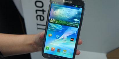 Imagem de Primeiras impressões: Samsung Galaxy Note 2 [vídeo] no site TecMundo