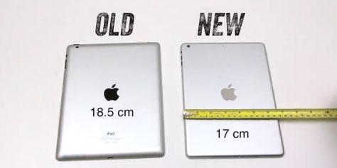 Imagem de Vídeo mostra suposto iPad 5 e o compara com iPad anterior no site TecMundo