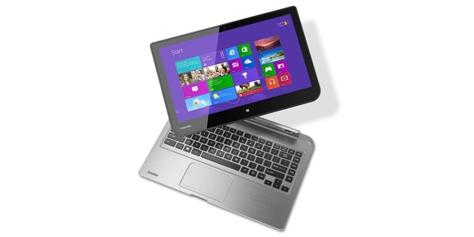 """Imagem de Toshiba apresenta """"PC removível"""" e laptop da linha Satellite na IFA 2013 no site TecMundo"""