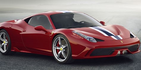 Imagem de Apresentação da Ferrari 458 Speciale parece ser feita para video games no site TecMundo