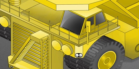 Imagem de Caterpillar 797: o caminhão mais monstruoso do mundo [ilustração] no site TecMundo