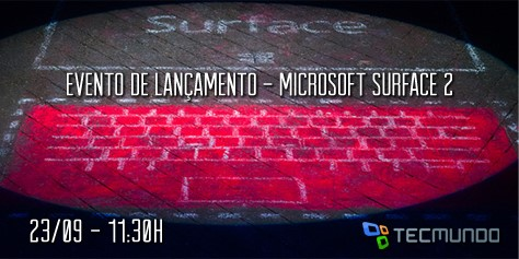 Imagem de Evento Microsoft: cobertura ao vivo do anúncio do Surface 2 no site TecMundo
