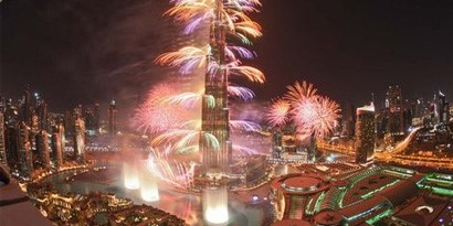 Imagem de Dubai impressiona o mundo com queima de fogos do Ano-Novo [vídeo] no site TecMundo