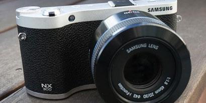 Imagem de Samsung NX300: câmera mirrorless com 3D em uma única lente no site TecMundo