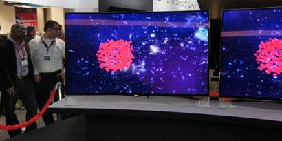 Imagem de Novas TVs OLED 3D da LG vêm até com formato curvo no site TecMundo