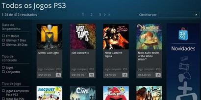 Imagem de Versão da PlayStation Store para navegadores é disponibilizada no Brasil [vídeo] no site TecMundo