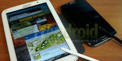 Imagem de Galaxy Note 8.0 aparece em novas fotos com S Pen no site TecMundo