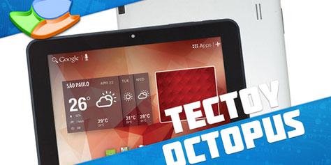 Imagem de Análise: tablet Tectoy Octopus [vídeo] no site TecMundo