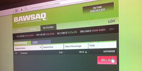 Imagem de GTA V: dicas para ficar rico usando a bolsa de valores no site TecMundo