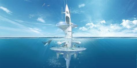 Imagem de SeaOrbiter: a torre submersa e móvel que vai revolucionar o estudo oceânico no site TecMundo