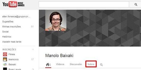 Imagem de Como bloquear alguém no YouTube no site TecMundo