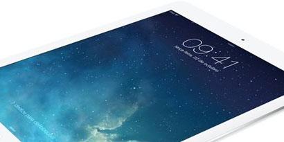 Imagem de iPad Air: teste mostra performance 80% superior à do iPad 4 no site TecMundo