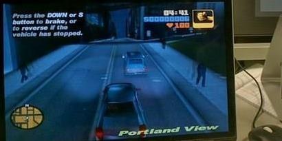 """Imagem de Desenvolvedor """"cria"""" mapa de GTA 3 para o Google Glass no site TecMundo"""