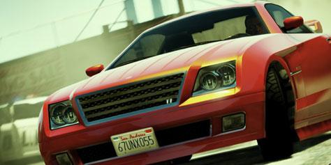 Imagem de Comparação: lado a lado os carros de GTA 5 com suas versões da vida real no site TecMundo