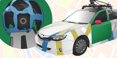 Imagem de Como funciona o carro do Google Street View? [ilustração] no site TecMundo