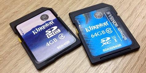 Imagem de Análise: cartões Kingston de alta velocidade SDHC Class 4 e SDXC Ultimate no site TecMundo