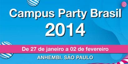 Imagem de Campus Party 2014 terá internet de 40 Gbps e vocalista do Iron Maiden no site TecMundo