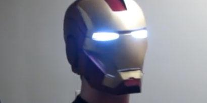 Imagem de Fã número um do Homem de Ferro cria réplica do capacete impressa em 3D no site TecMundo