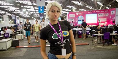 Imagem de Campus Party: ativista do Femen critica uso de mulheres para atrair público no site TecMundo