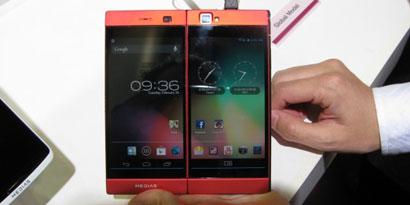 Imagem de NEC revela celular com duas telas no MWC 2013 no site TecMundo