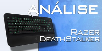 Imagem de Análise: Razer DeathStalker Ultimate no site TecMundo