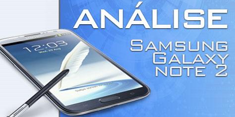Imagem de Análise: Samsung Galaxy Note 2 [vídeo] no site TecMundo