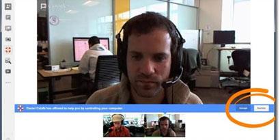 Imagem de Atualização permite controle remoto de computadores via Hangouts no site TecMundo