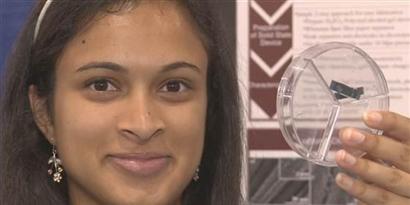 Imagem de Invenção de uma garota de 18 anos poderá recarregar celulares em segundos no site TecMundo