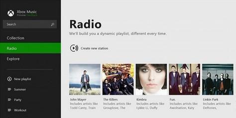 Imagem de Xbox Music para Windows 8.1 terá função rádio no site TecMundo