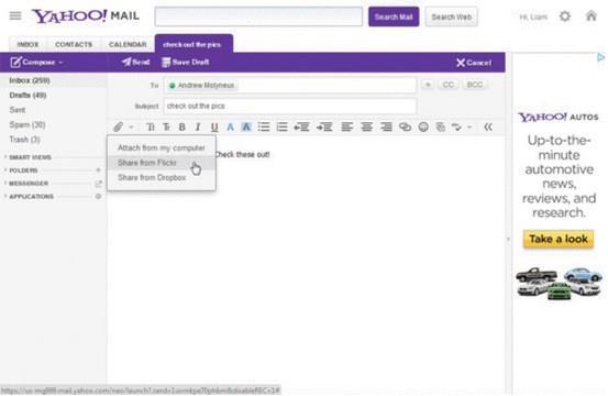 Yahoo mail passa a permitir o carregamento de imagens direto do yahoo mail passa a permitir o carregamento de imagens direto do flickr stopboris Images