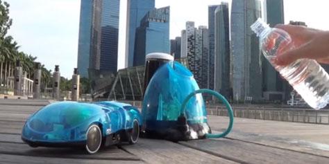 Imagem de i-H2GO: conheça o carro de controle remoto movido por água no site TecMundo