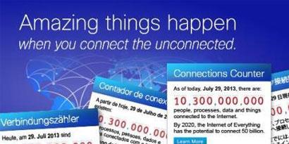 Imagem de Cisco lança contador de número de conexões à internet no site TecMundo