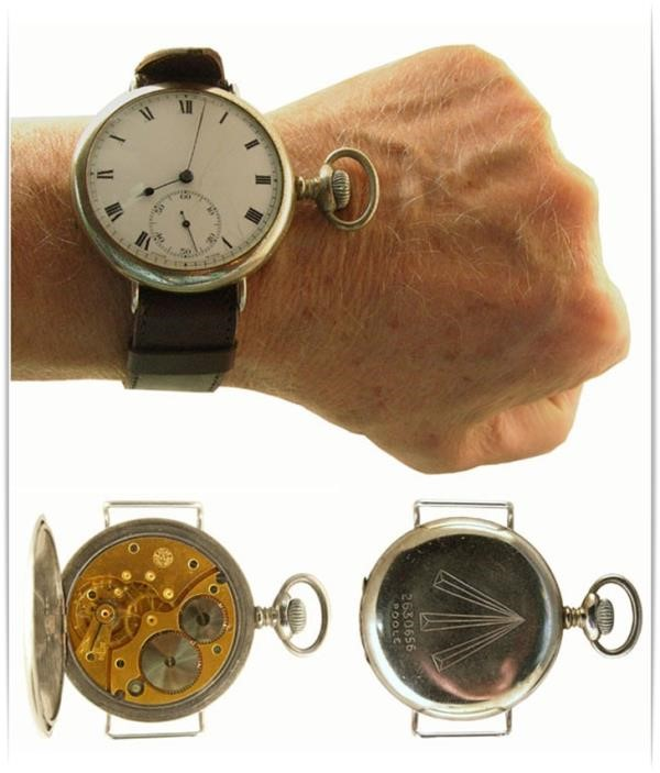 14b04d523d6 O primeiro smartwatch é datado de 1940. (Fonte da imagem   Reprodução MWForum)