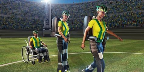 Imagem de Jovem com exoesqueleto vai dar o pontapé inicial da Copa de 2014 no site TecMundo