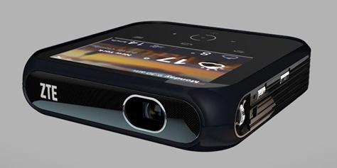 Imagem de ZTE revela projetor que também funciona como um hotspot no site TecMundo