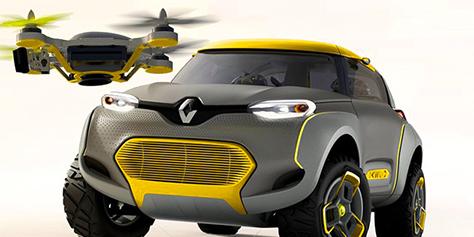 Imagem de Renault Kwid: carro conceitual conta com drone de reconhecimento [vídeo] no site TecMundo