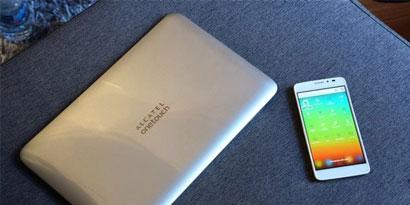 """Imagem de Alcatel apresenta conceito de laptop que usa smartphone como """"cérebro"""" no site TecMundo"""