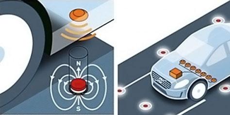 """Imagem de Volvo propõe """"ruas magnéticas"""" para nova tecnologia de carros autônomos no site TecMundo"""